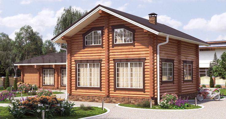 Проект деревянного дома — Уют — УТ-131