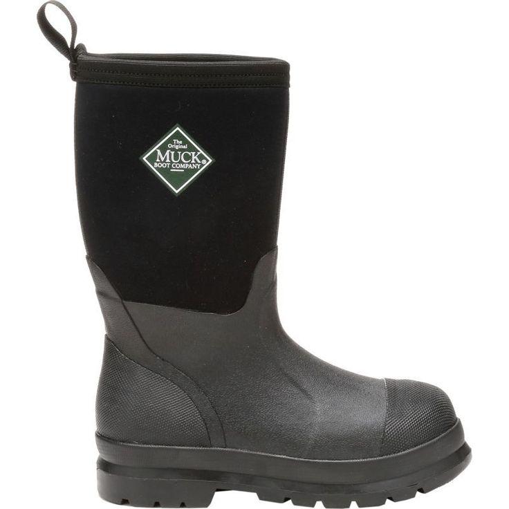 Muck Boot Kids' Chore Insulated Work Boots, Boy's, Size: 13K, Black