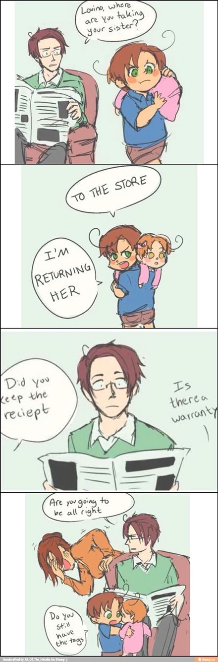 Why would he do that to-a me? Then again it's Romano so i'm not-a surprised.