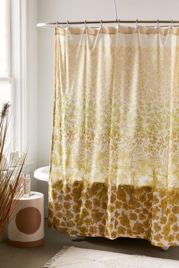 Raquel Floral Shower Curtain Floral Shower Curtains Curtains