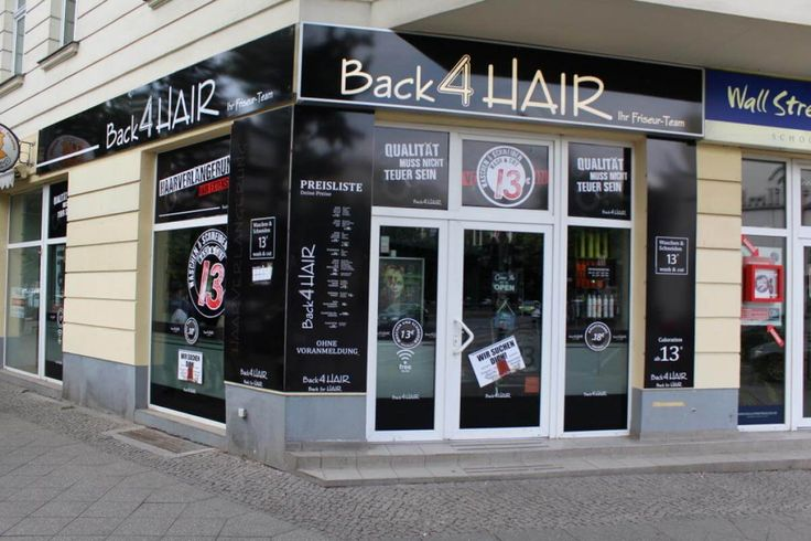 Back4Hair Albrechtstr. 8, Prenzlauer Berg 12165 Berlin  Telefon: 030 40576982