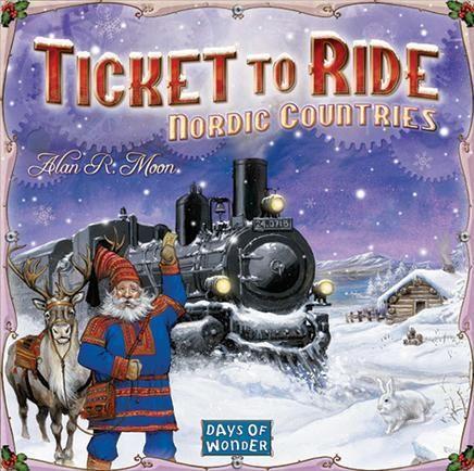 Days of Wonder Ticket to Ride: Nordic Countries - Lägsta pris 347:-