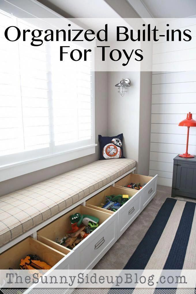 Best Pictures Images And Photos About Toy Storage Ideas For Living Room Dreamhome Diyroomdecor Diyhomede Storage Bench Kids Bedroom Storage Small Space Diy