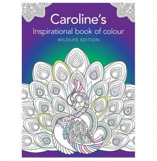 Personalized Inspirational Book of Colour - Wildlife Edition