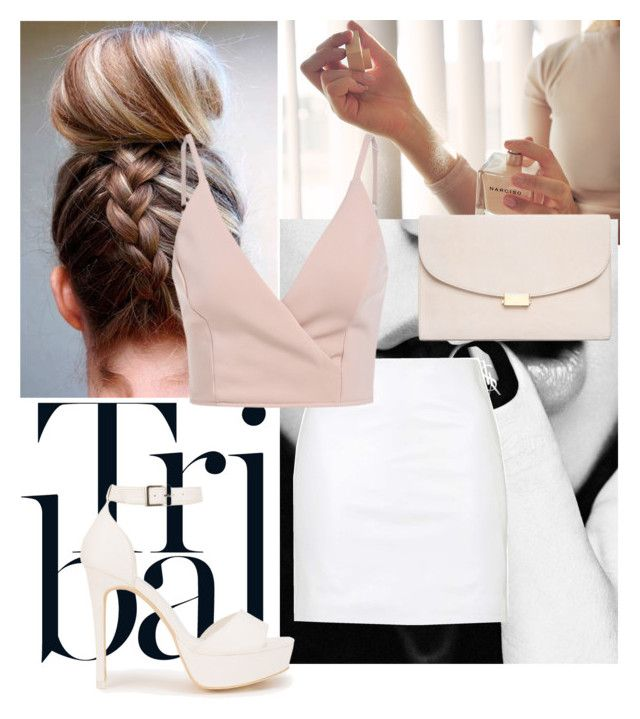 Untitled #74 by liebelievedie on Polyvore featuring polyvore, moda, style, Topshop, Nly Shoes, Mansur Gavriel, fashion and clothing