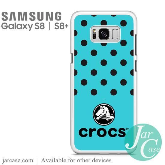 Blue Crocs Phone Case for Samsung Galaxy S8 | S8 Plus