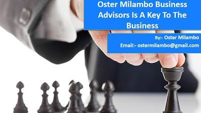 Oster Milambo Business Advisors: Oster Milambo Business Advisors Is A Key To The Bu...