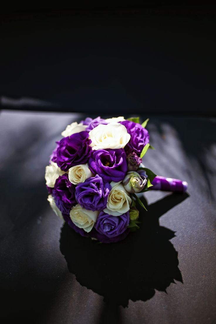 White Purple Bouquet..