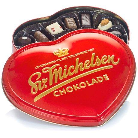 Lyxig chokladask full med kitsch