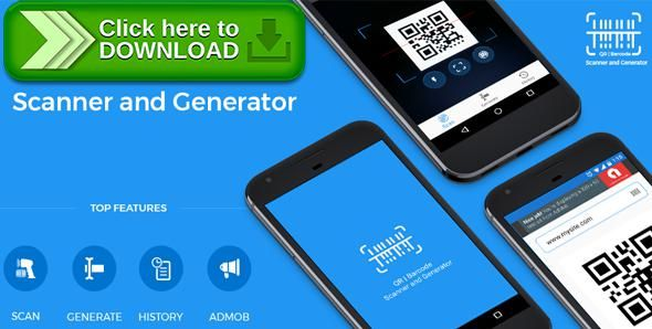 [ThemeForest]Free nulled download QR code and Barcode scanner and generator for Android with AdMob from http://zippyfile.download/f.php?id=51968 Tags: ecommerce, android app, bar, barcode, barcode scanner app, buy android project, buy qr and barcode project, Generate Barcode, generate qr code, qr, qr code, qrcode, qrcode scanner app