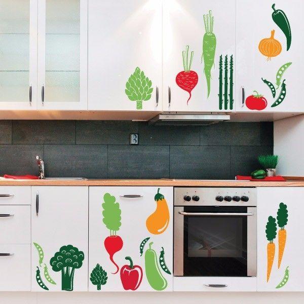 Las 25 mejores ideas sobre papel tapiz de cocina en for Donde conseguir vinilos decorativos