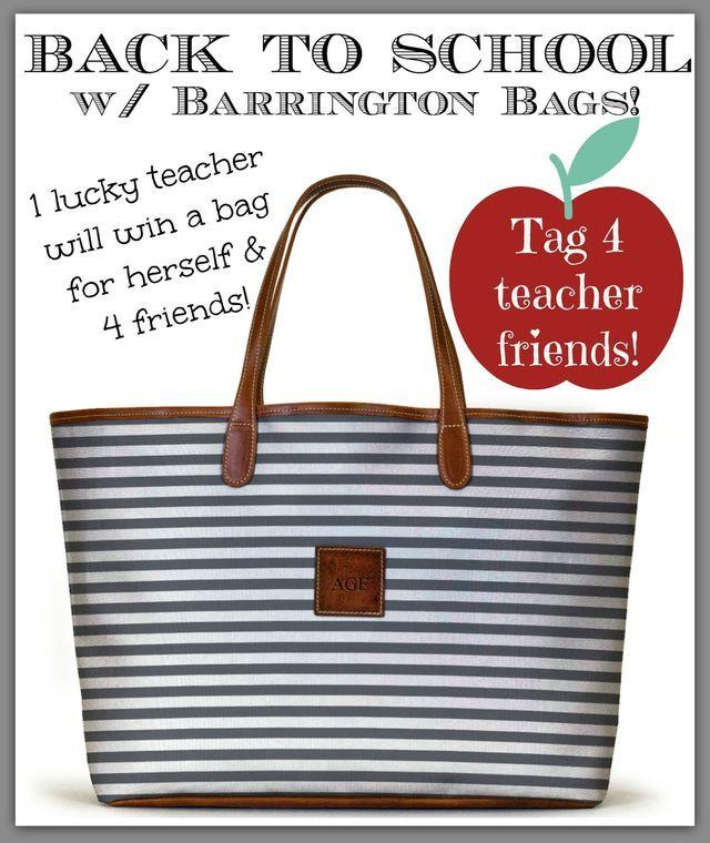 Barrington Bag Giveaway!! (via Bloglovin.com )