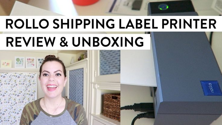ROLLO Thermal Shipping Label Printer | Review & Unboxing https://youtu.be/K8LXi1aP8qA