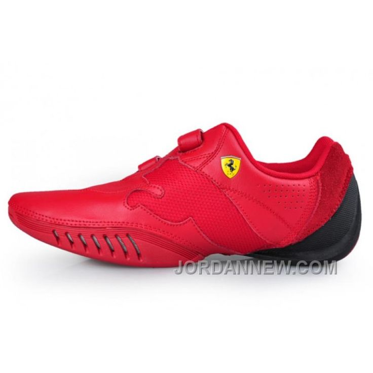 Puma Leather Ferrari Shoes Red Free Shipping