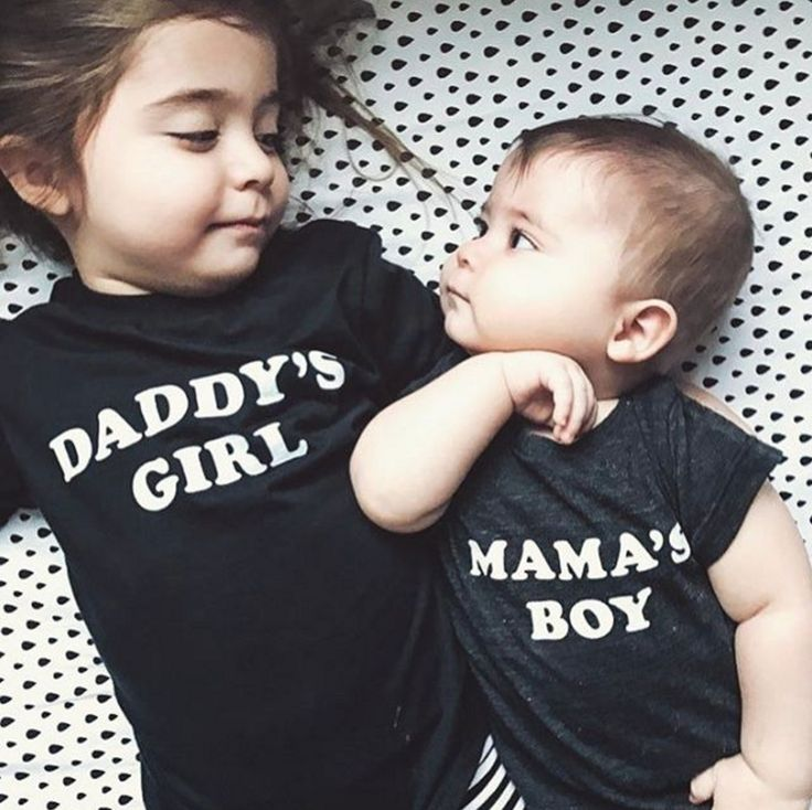 Daddy's Girl Tee & Mama's Boy Onesie | The Bee & The Fox on Etsy