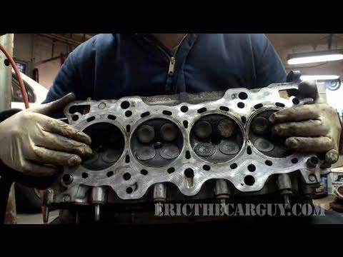 Dissecting an Engine, The Basic Parts and Their Function - EricTheCarGuy - YouTube