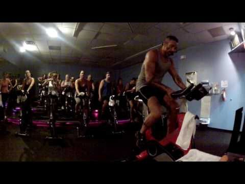 ENTIRE SPIN/CYCLE CLASS cuz it's MADONNA'S birthday! - YouTube