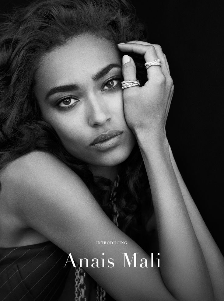 Anais Mali reveals her innate French sophistication in refined, feminine designs sparkling with diamonds.