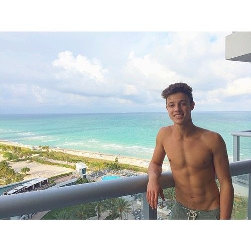 Cameron Dallas Spends A Day At The Beach | Glitter Magazine
