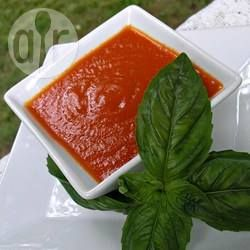 Molho de pizza caseiro de liquidificador @ allrecipes.com.br