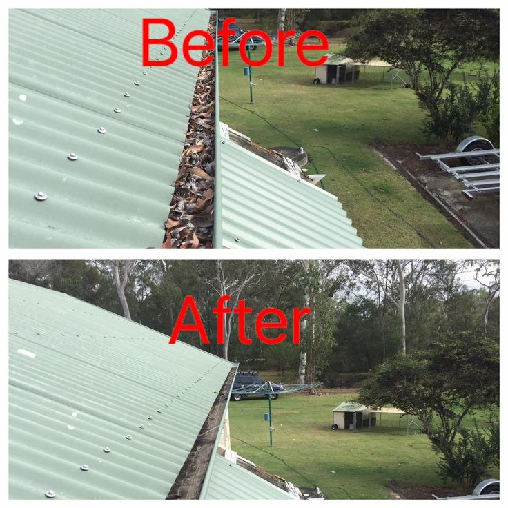 A great before and after collage from Gutter-Vac Brisbane South West of a gutter cleaning job they completed in Chambers Flat in Brisbane, Queensland.   Want to learn more about Gutter-Vac's cleaning services? Visit www.guttervac.com.au