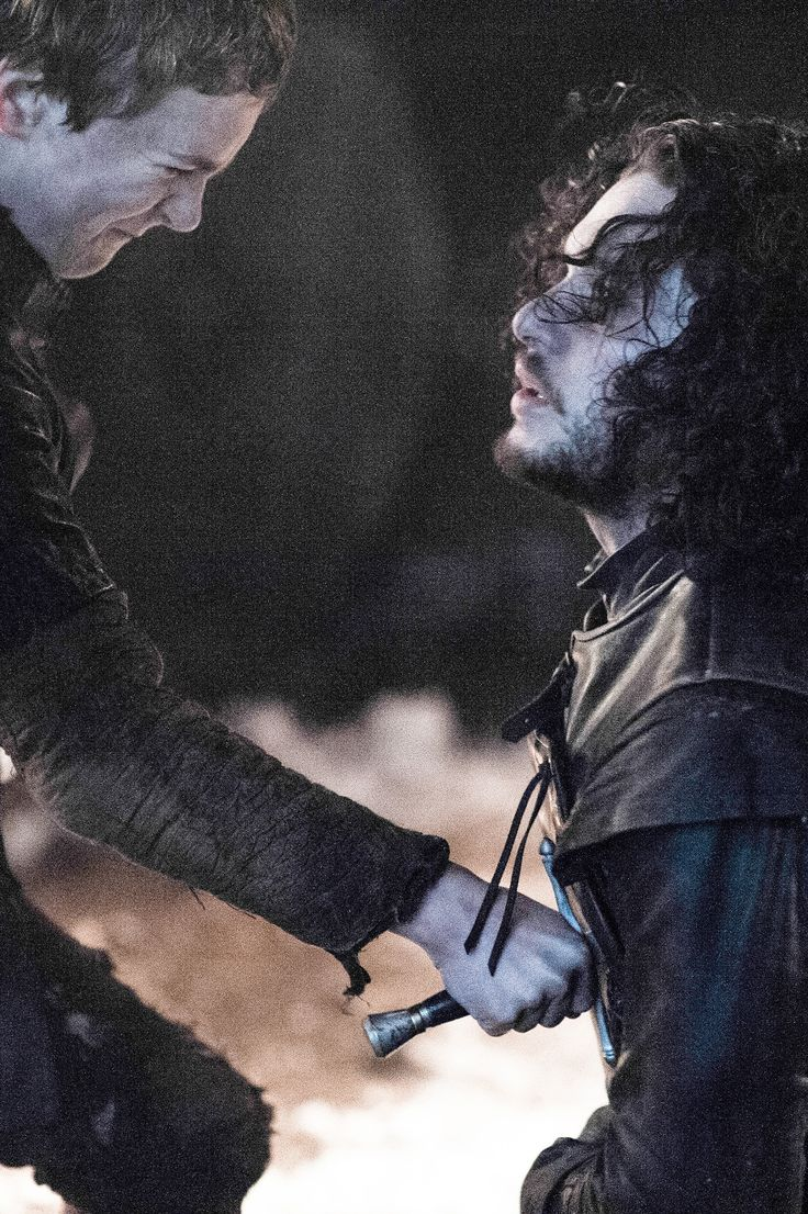 "Olly & Jon Snow [Game of Thrones, Season 5 Episode 10] - ""For the Watch"""