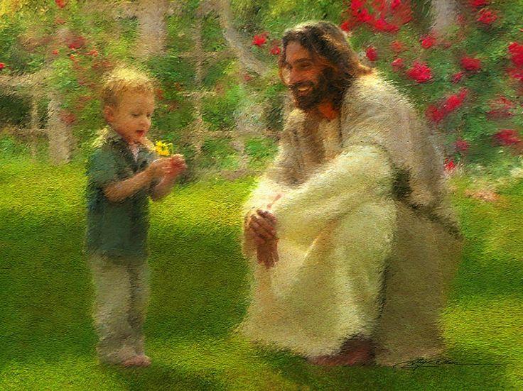 Painting of Jesus Christ by Greg Olsen...                                                                                                                                                      More