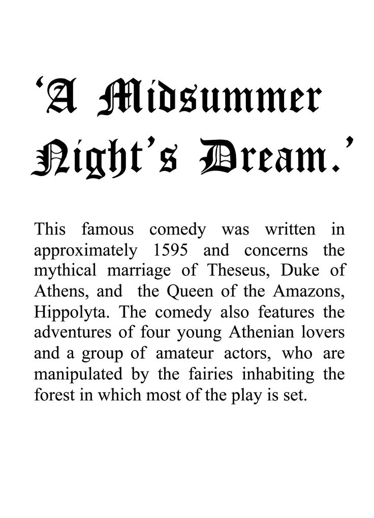 foolishness in midsummer nights dream by william shakespeare In shakespeare's a midsummer night's dream the mortal teenage characters fall in william shakespeare's a midsummers night's dream shows how childishly foolish.