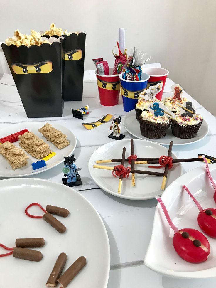 Lego Ninjago Party Ideas, Ninjago fancy dress, Ninjago treat bags and Ninjago themed food - so many ideas!