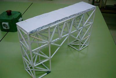Tecnología escolar - E.S.O.: PROYECTO: Puente de papel (I)