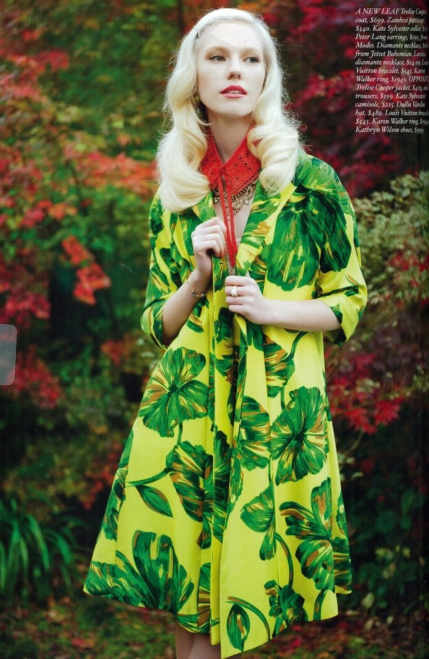 Fashion Quarterly - Trelise Cooper Poet Society jacket