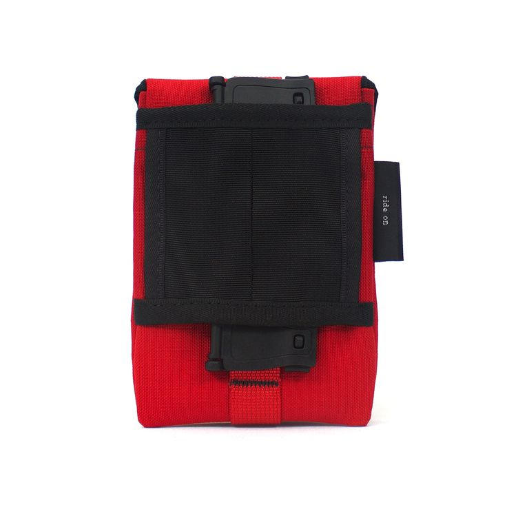 There are so many mounting variations for this Imperial Red Phone Pouch.