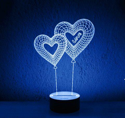 Woody Temperature Sensitive 3D Light – pandagizmo.com