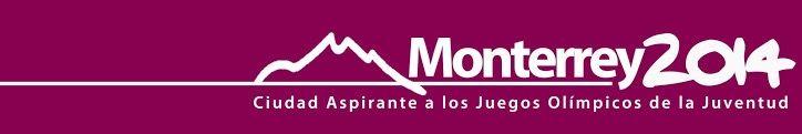 Logotipo de la candidatura de Monterrey, México por los Juegos Olímpicos de la Juventud en 2014