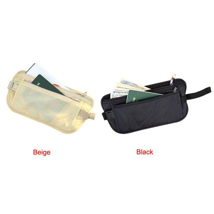 2017 Unisex Security  Bags  Casual Traveling Storage Zipper Waist Bag Waterproof Men Women Fashion Chest Packs A8