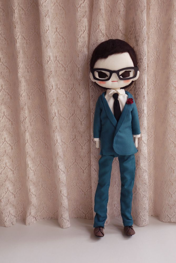 Male doll  by Evangelione