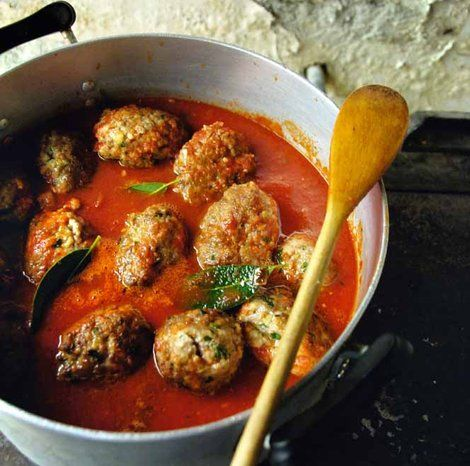 Polpette - Meatballs in Tomato Sauce