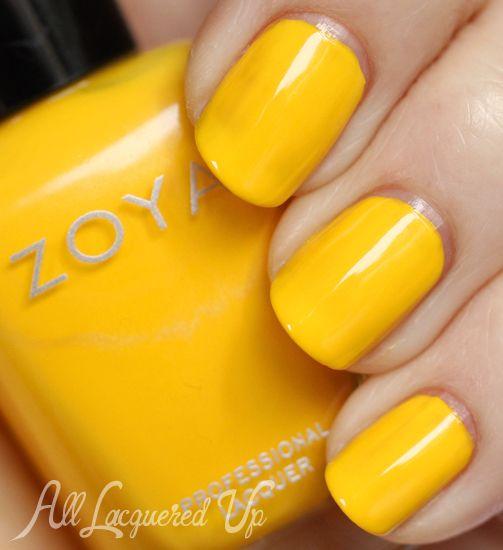 Yellow Nail Polish On: 1000+ Ideas About Yellow Nail Polish On Pinterest
