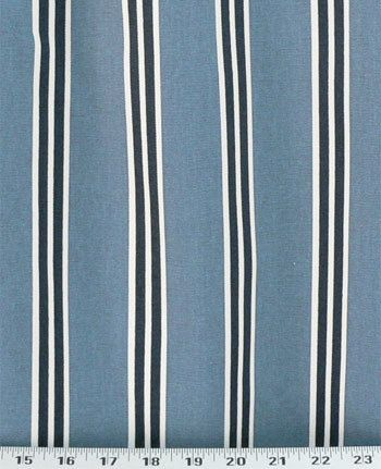 Floating Boat Curtains   Premier Print   West End Blue Bird With Navy Tabs