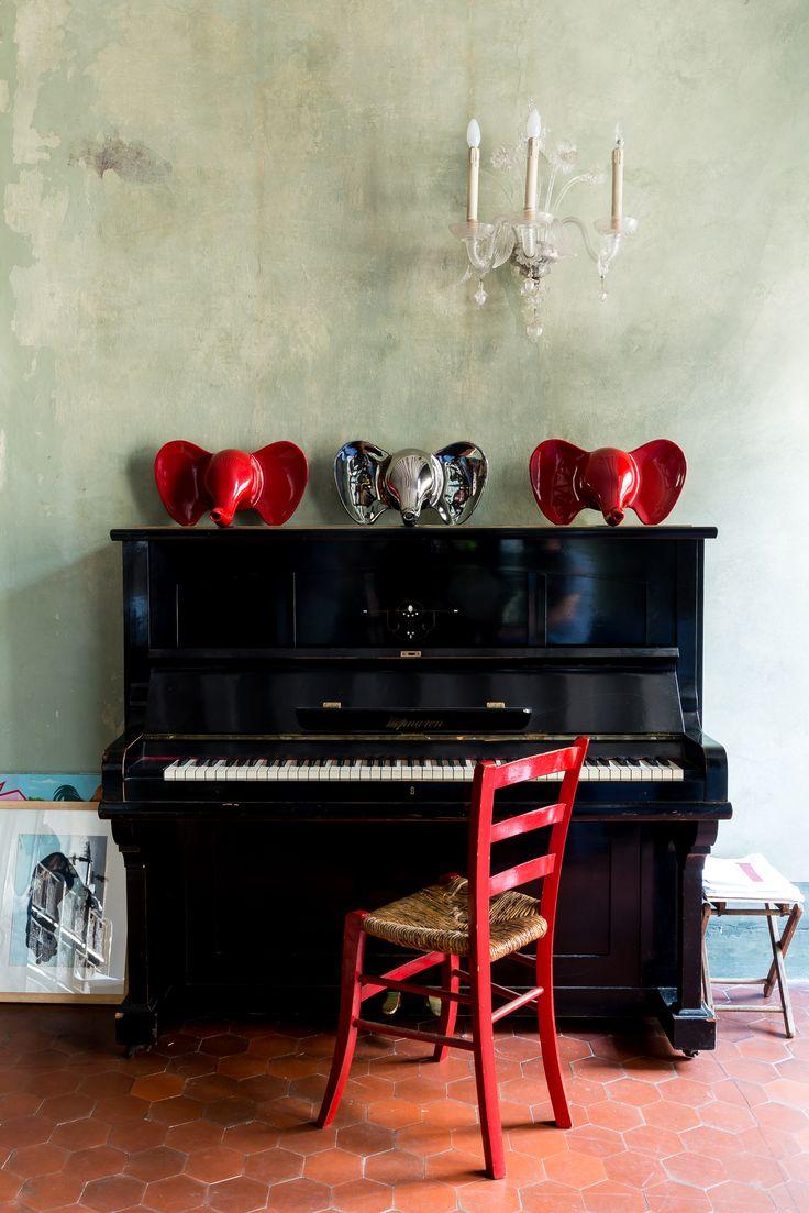 Il pianoforte casa di Aldo Cibic
