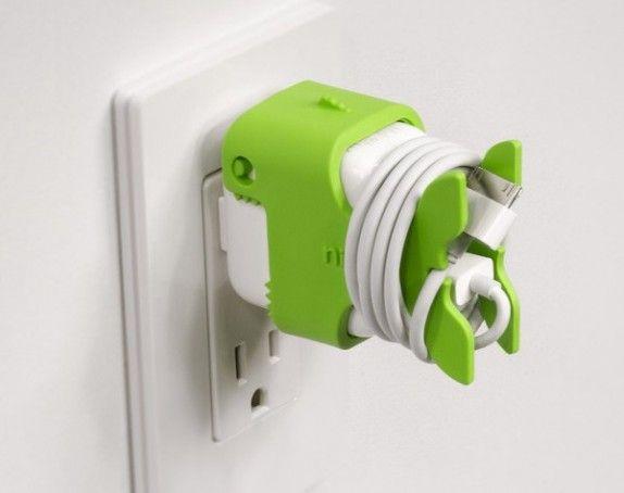 CableKeeps o lo que es lo mismo, un apartito para recoger el cable del cargador cuando esté desenchufado / #tecnologia #gadgets #cablekeeps