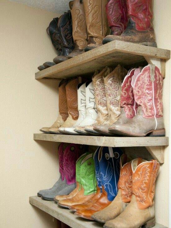 Boot shelves