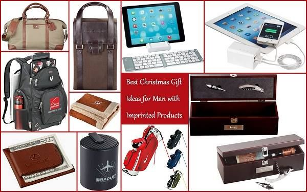 Christmas Gifts for Men with Imprinted Promotional Products from HotRef.com