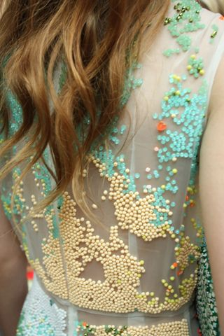 Maia Bergman Spring 2013. Looks like hundreds & thousands candy sprinkles!