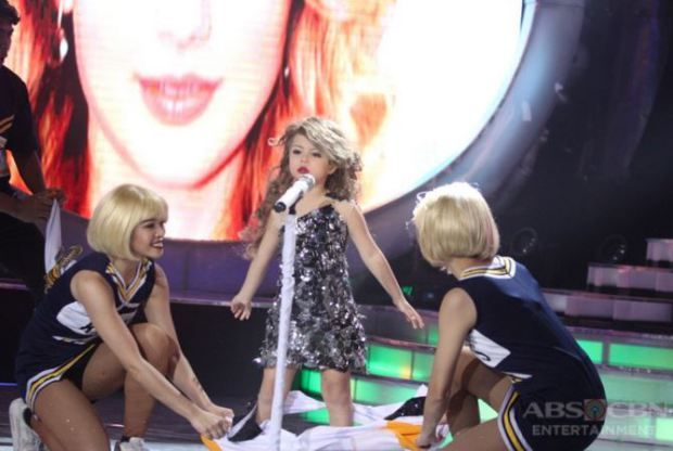 Watch this little British girl impersonating Taylor Swift on TV | Metro News