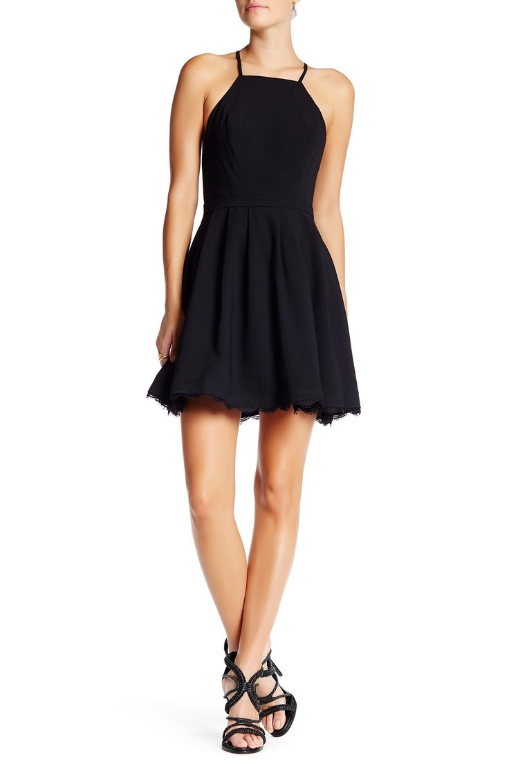 Cocktail Fit N Flare Dress by Lovers   Friends on @nordstrom_rack