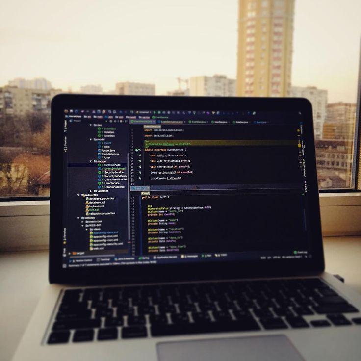 #mac #java #javascript #python #tomcat #spring #hibernate #angularjs #restservice #jetbrains #code #govnocode #jpa #sqlserver #backend #kiev #ukraine