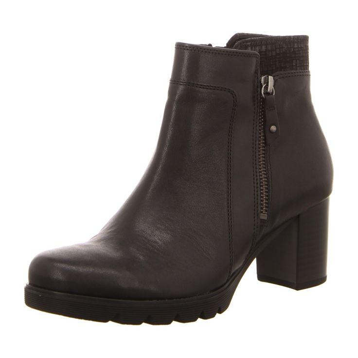 NEU: Gabor Stiefeletten Business-Schuhe 55.783.57 - schwarz/argent(Micro) -