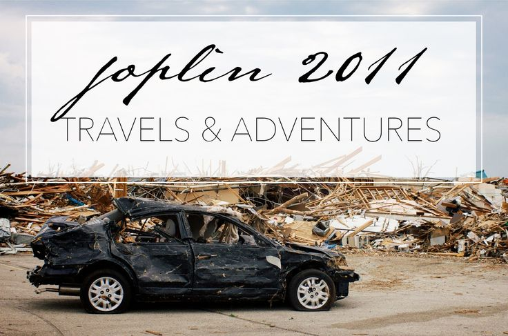 Photojournalism from the Joplin tornado of 2011.