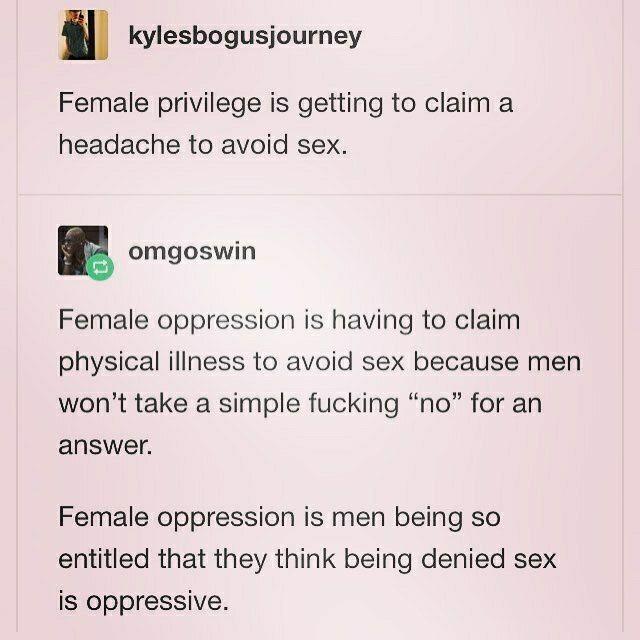 Misogyny takes many forms.